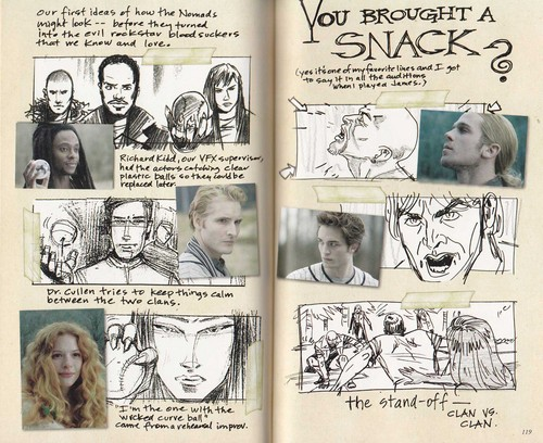 Scans of Twilight Movie Companion by Catherine Hardwicke