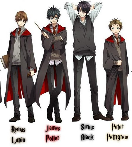 The Marauders anime