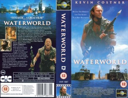 Waterworld UK VHS Cover