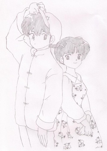 ranma and akane shabiki art