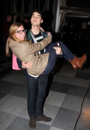 Darren with a fan 07/01/12