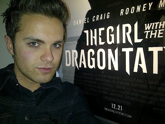 Thomas Seeing the Girl With the Dragon Tattoo