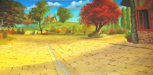 Walt Disney Backgrounds - Beauty and the Beast