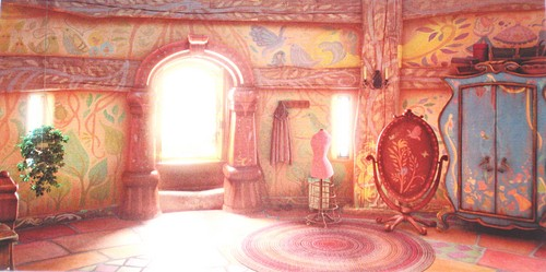 Walt Disney Backgrounds - Rapunzel - L'intreccio della torre