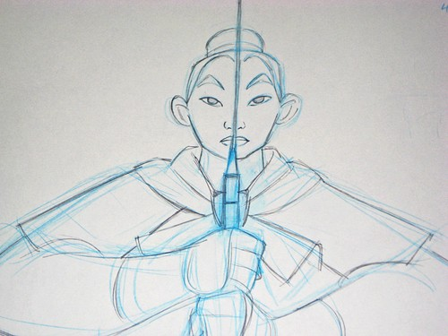Walt Disney Sketches - Mulan
