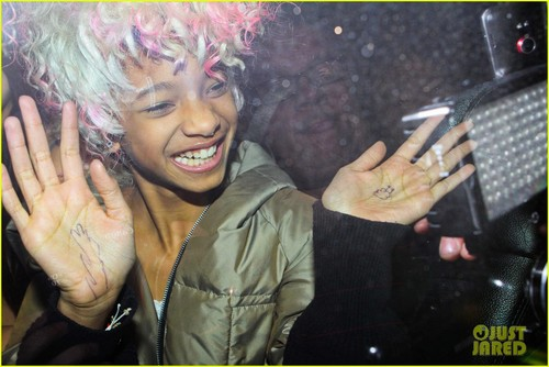 Willow Smith Channels Nicki Minaj With गुलाबी Wig