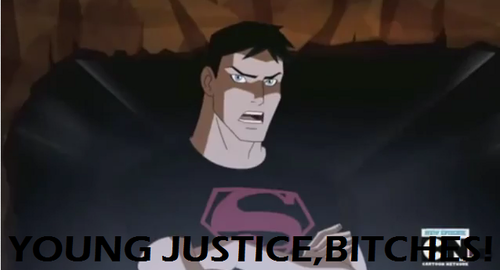 Young Justice BITCHES!