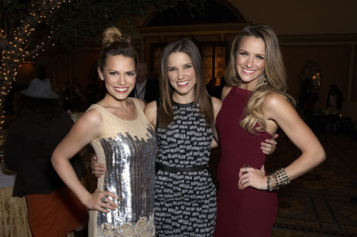 Joy, Sophia and Shantel at TCA event 1/12/12