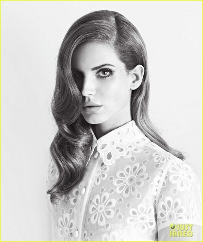 Lana Del Rey: 'V' Magazine Feature!