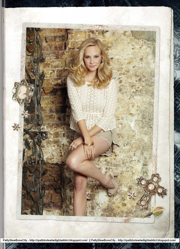 "New/Old scans of Candice in ""Séries City"" magazine"
