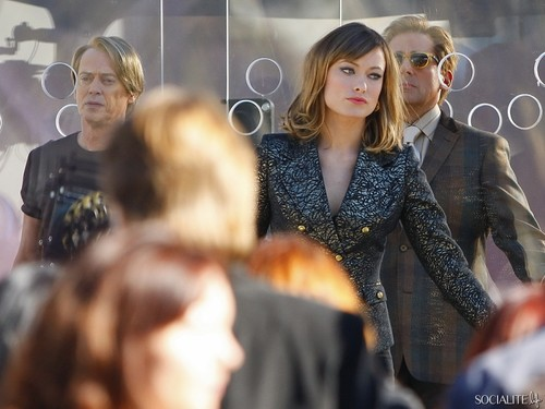 Olivia Wilde Films 'Burt Wonderstone' In Las Vegas