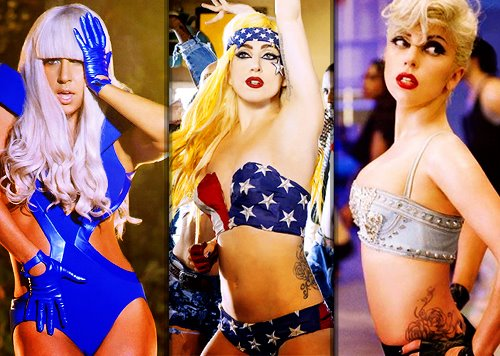 Poker Face, Telephone, Marry The Night <3