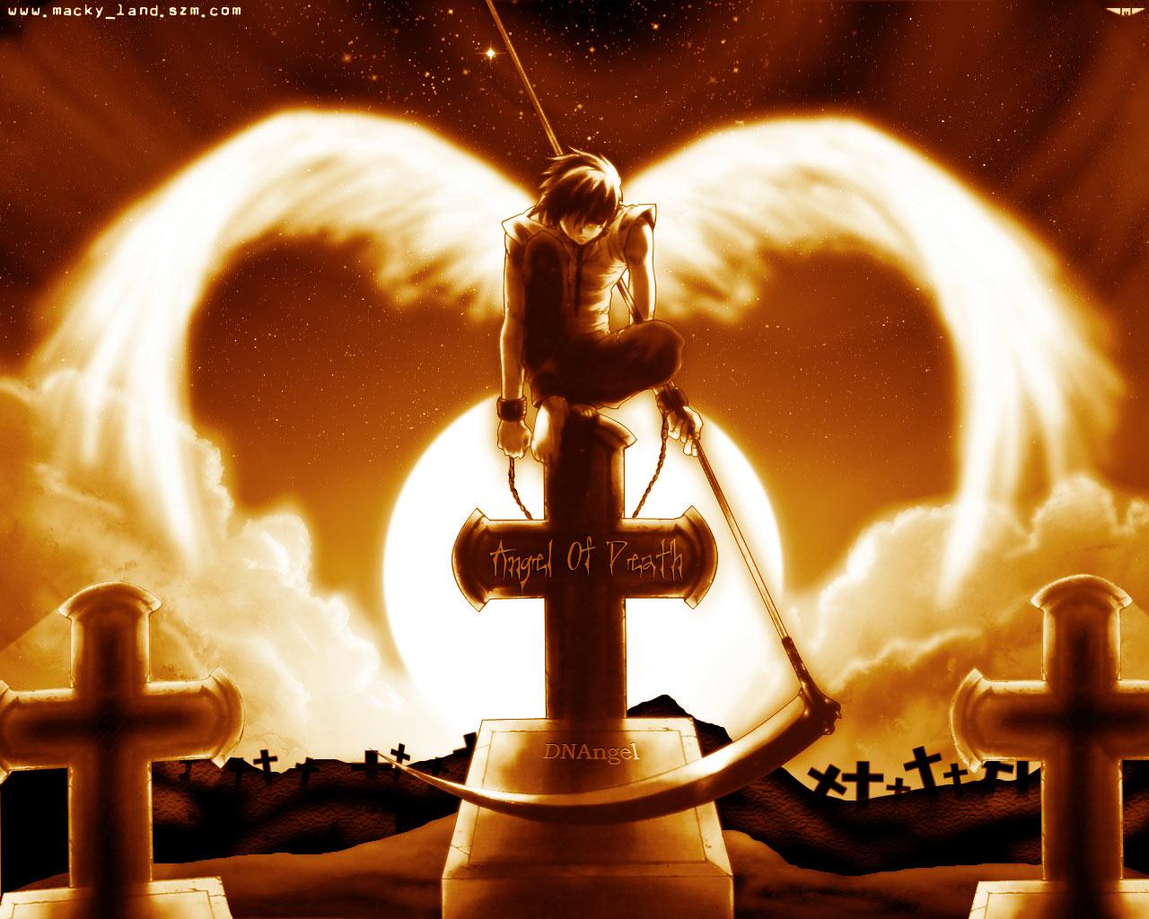 Death Angels Dark Anime Angels Wallpaper 28213390 Fanpop