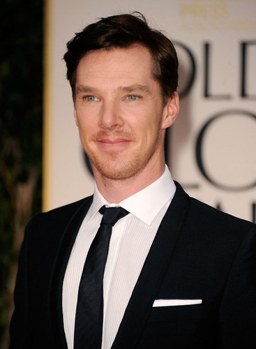 Benedict Cumberbatch at the 69th Annual Golden Globe Awards