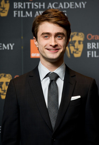 Daniel Radcliffe attend the nomination announcement for The oranje BAFTA