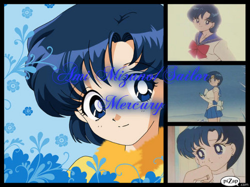 Sailor Mercury Collage by Ami_Mizuno