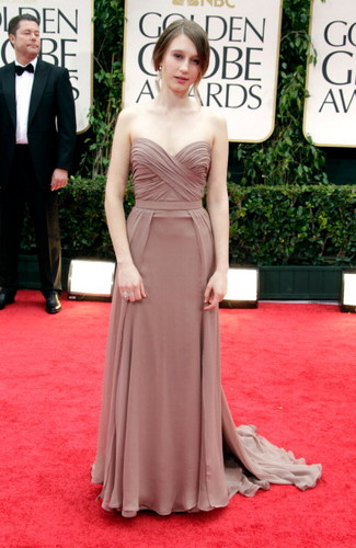 Taissa Farmiga @ 69th Annual Golden Globe Awards