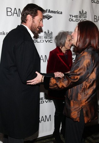 Hugh Jackman 'Richard III' Opening Night - Arrivals