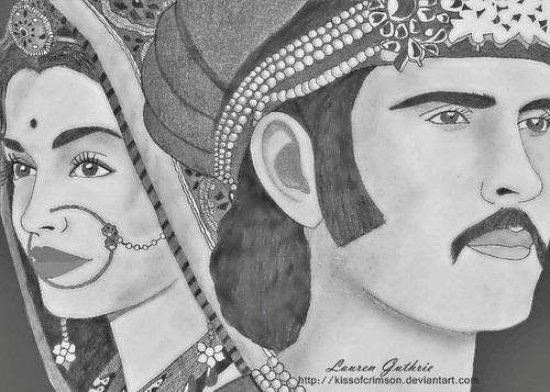 My Artwork- Jodhaa Akbar