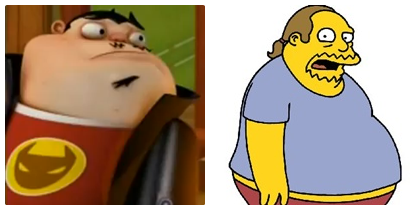 Similarities ~ Oz and Comic Book Guy