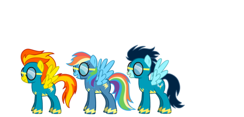 ranbow dash joins the wonderbolts
