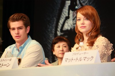 'The Amazing Spider-Man' Press Conference in Giappone