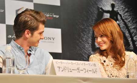 'The Amazing Spider-Man' Press Conference in Japão