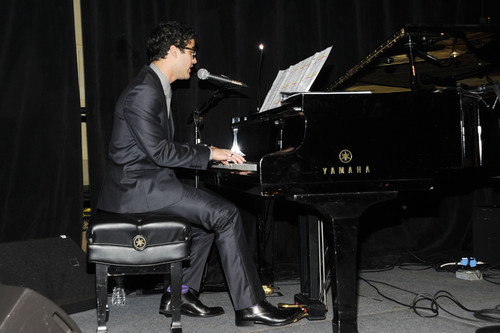 Darren attendsThe Old Vic Theatre Company Benefit 23/01/12