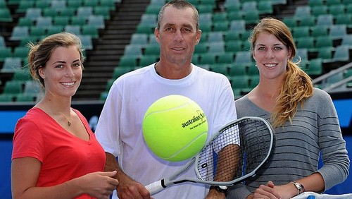 Ivan Lendl and his children
