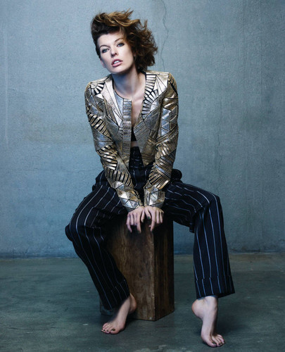 Milla in Angeleno Magazine - October 2011