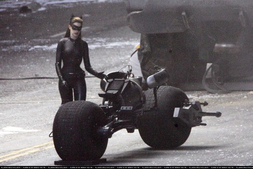 "On set of ""The Dark Knight Rises'"