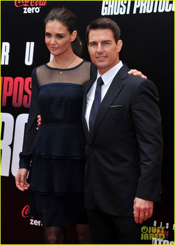 tom cruise with katie holmes