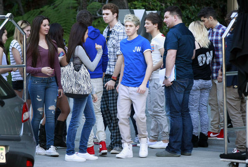 1D meeting fand in America:)
