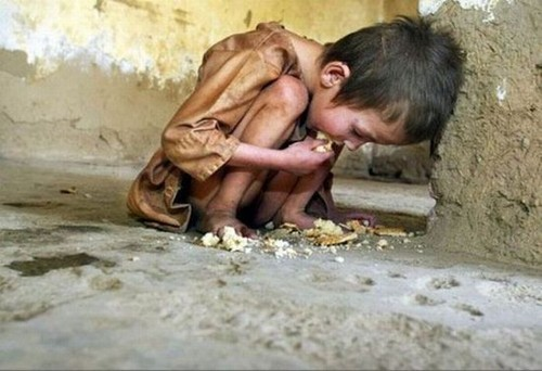 Children dying of poverty