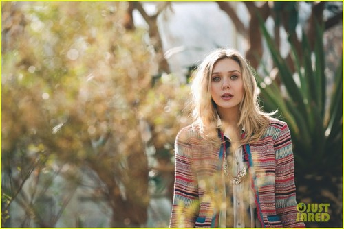 Elizabeth Olsen Covers 'Asos' March 2012