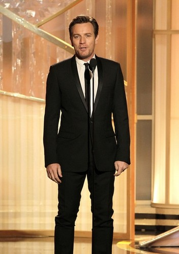 Ewan at Golden Globe 2012