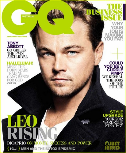 GQ Australia's February/March 2012 issue.