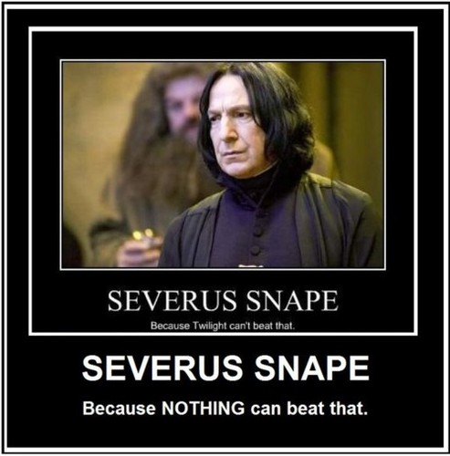 Nothing is as special as Snape <3