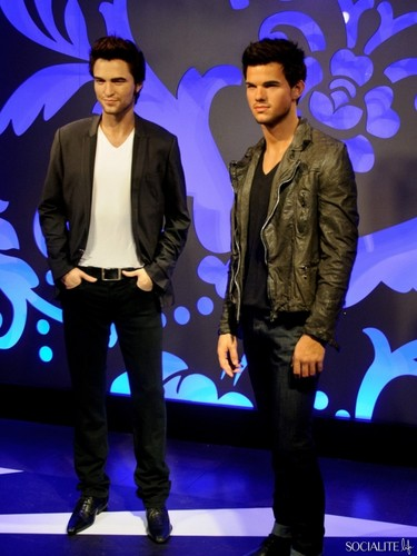 Taylor Lautner Wax Figure At Madame Tussauds Unveiled