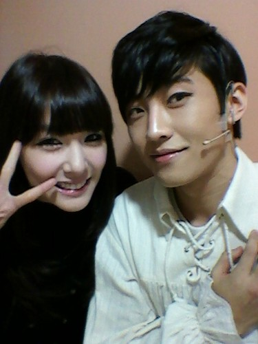 Tiffany Selca Picture with Ko EunSung
