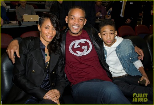Will Smith: 76ers Game With Jada & Jaden!