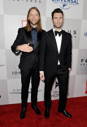 Adam Levine @ NBCUniversal's Golden Globes Viewing And After Party Sponsored door Chrysler and Hilton
