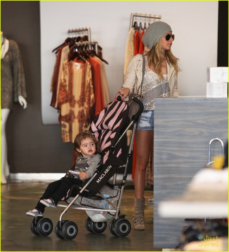 Ashley Tisdale: Planet Blue Shopper