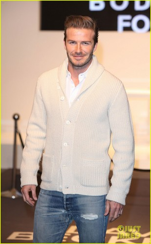 David Beckham: Bodywear Launch at H&M!