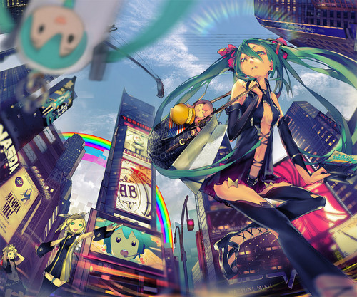 Miku in the Big City