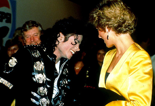 princess diana and michael jackson