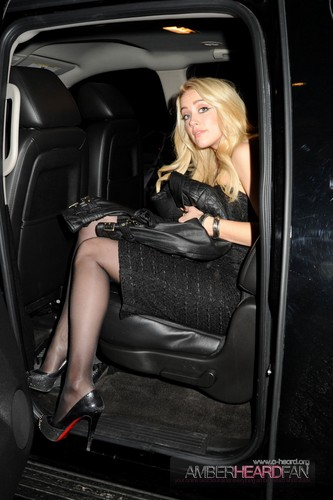 Arriving at the Guess দ্বারা Marciano Summer 2012 প্রিভিউ in NYC (February 2nd)