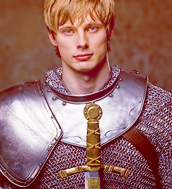 Photoshoot of Bradley as Arthur
