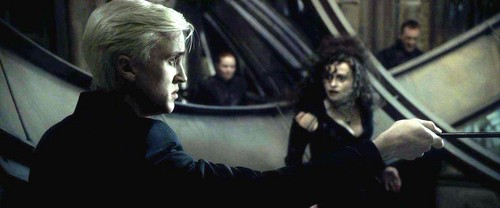 Bellatrix and Draco