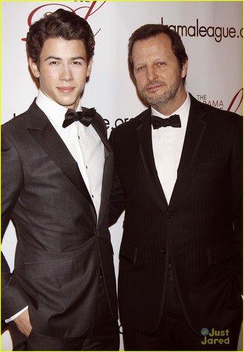 Nick Jonas: Drama League Benefit Gala 2012